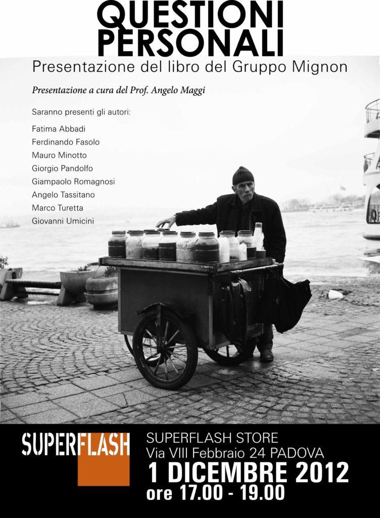 Gruppo Mignon - Locandina QP 1 dicembre 2012